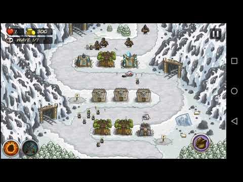 Kingdom Rush #21   Stage 7 Coldstep Mines   Normal Iron Challenge