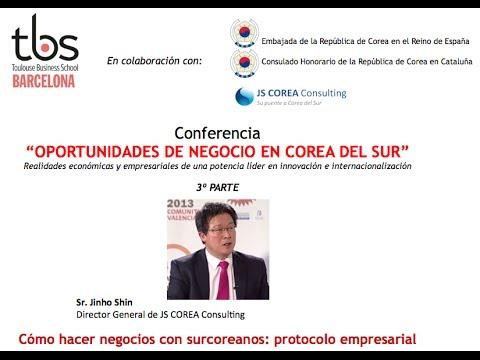 Conferencia - Oportunidades de Negocio en Corea del Sur - Sr. Jinho Shin