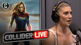 Katee Sackhoff's Comments on Captain Marvel