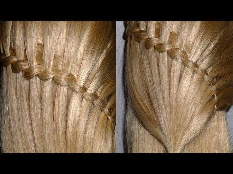 Плетение кос водопад видео урок на русском языке видео
