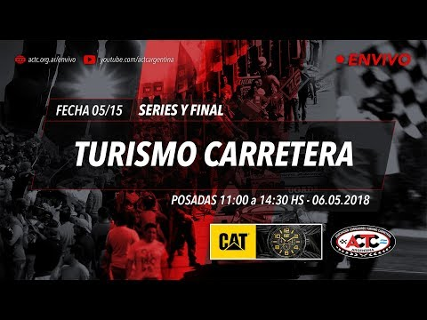 0​5-2018) ​Posadas: Domingo Series TC y Finales