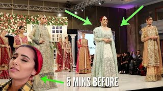 I WALKED IN A FASHION SHOW AT PAKISTAN FASHION WEEK!!