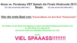 4tune vs. Persteasy VBT Splash! 2013 Beat 3 + Download [HD]