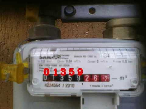 Automatic GAS Meter Reading