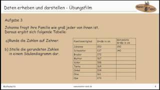 Daten erheben und darstellen - Übungsfilm