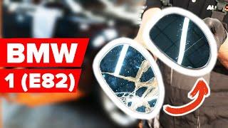 Mudar Jogo de maxilas de travão de estacionamento traseiro BMW 1 Coupe (E82) - vídeos tutoriais