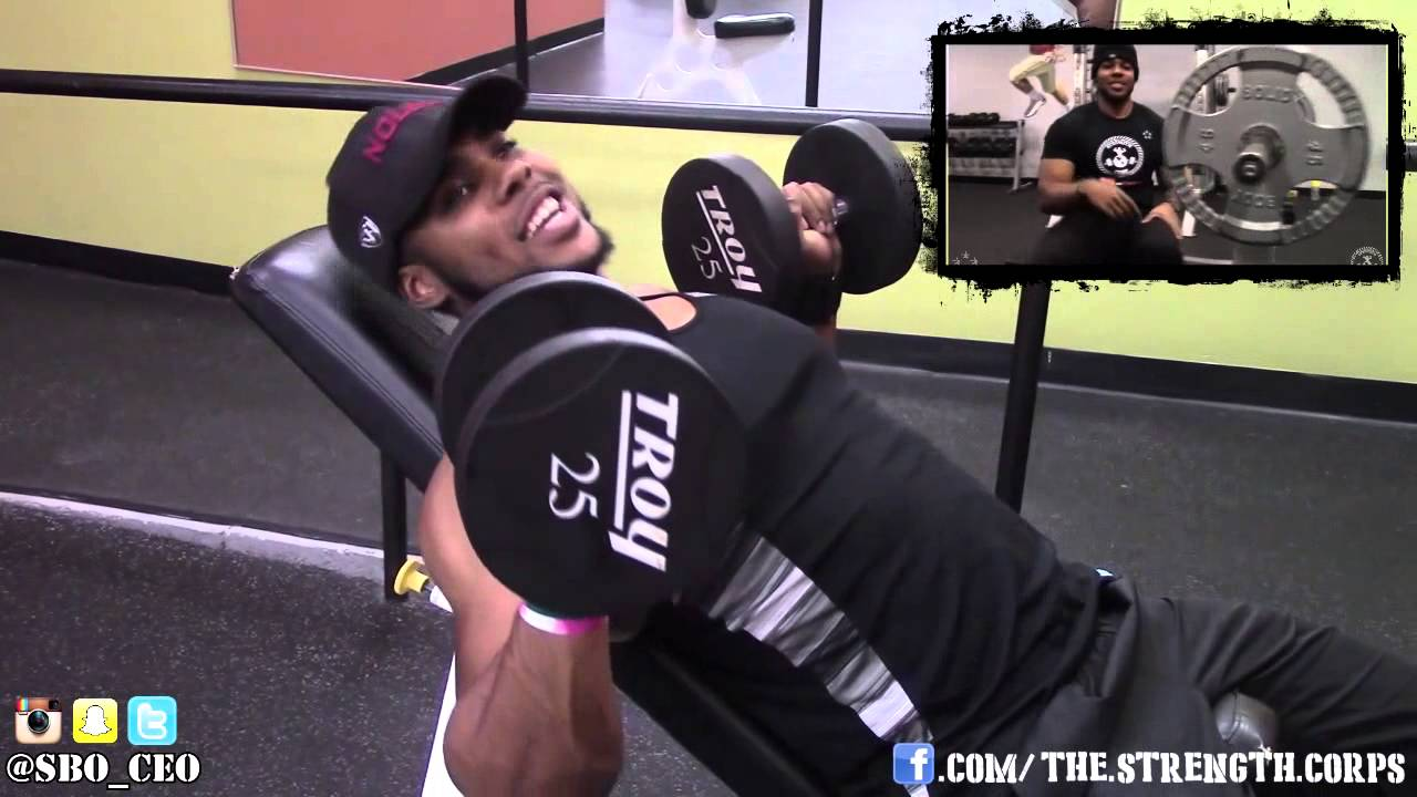 How To Incline Dumbbell Bench Press With Perfect Form