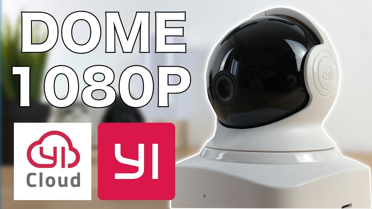 📷 Cámara IP YI-Cloud DOME 1080P - Review   JMramirez