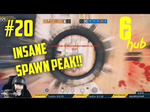 KING GEORGE INSANE SPAWN PEAK!! | Rainbow Six: Siege  Twitch Clips #20