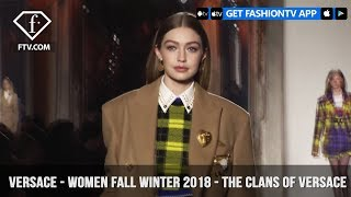 Versace Presents The Clans of Versace Women Fall/Winter 2018 | FashionTV | FTV