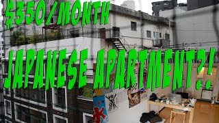 $350 Japanese Apartment; What Does It Looks Like??