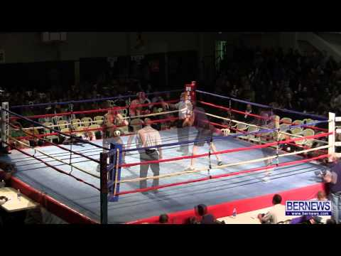 Bernard Opoku vs David McHugh At Fight Night 15, Feb 2 2013