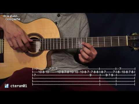 Cien Años - Tutorial Guitarra