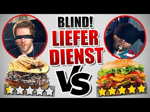 0 STERNE vs 5 STERNE Essen bestellen - BLIND TEST Experiment ( Food Fun )