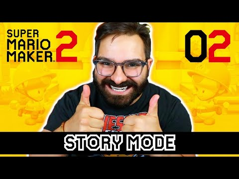 SUPER MARIO MAKER 2 STORY MODE LIVE 02