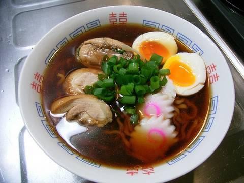 How to make Ramen noodle かんたん醤油ラーメン