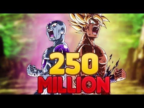 JP vs GLOBAL 250M DOWNLOAD CELEBRATION NEWS! GLOBAL DOKKAN BATTLEFIELD! DBZ Dokkan Battle