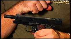 The Firearms Channel reviews the Iver Johnson .45 ACP 1911A1 Eagle