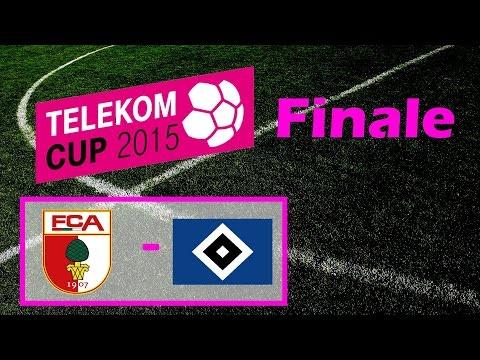 Telekom Cup 2015   FC Augsburg vs. Hamburg   Komplettes Spiel [German/HD]