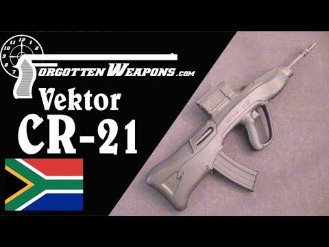 Vektor CR21: South Africa&39;s Futuristic Bullpup