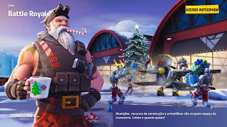 Fortnite star Secret Week 3 chutes de neige