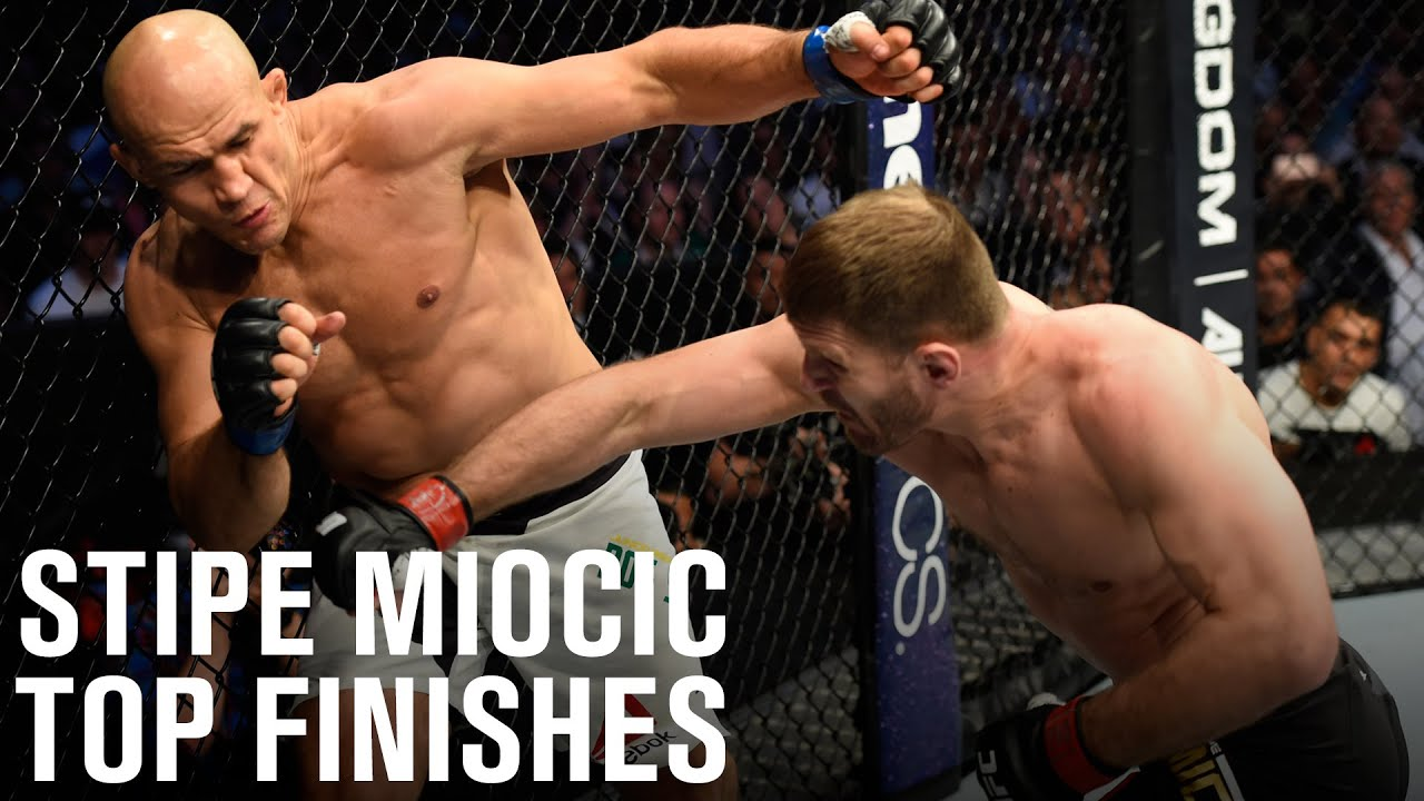 Top Finishes: Stipe Miocic