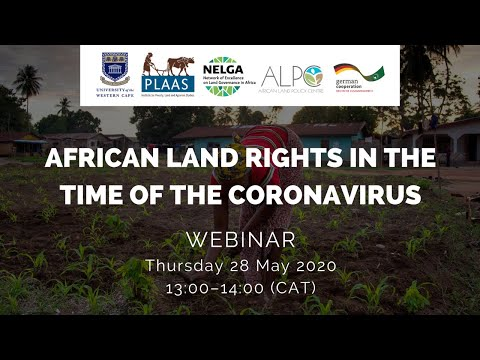 African land rights in the time of the coronavirus