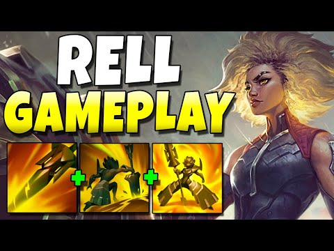 RELL GAMEPLAY!! BIGGEST AOE STUNS STUNS EVER - League of Legends