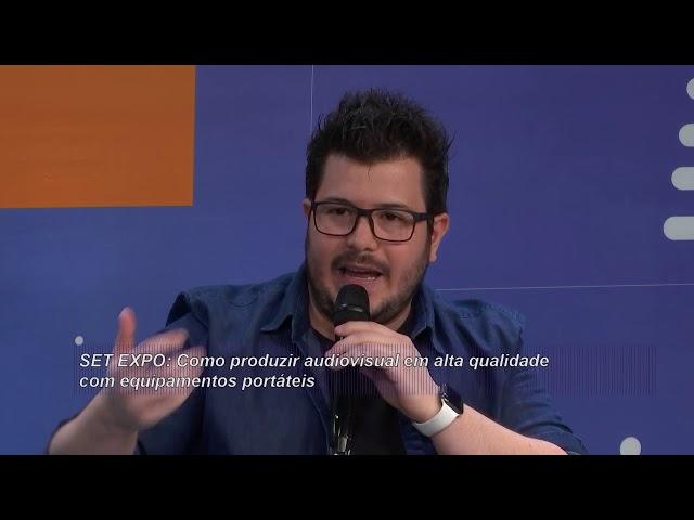 SET Estúdio: Entrevistas com Américo Fazio e Duca Mendes - 28/08/2019