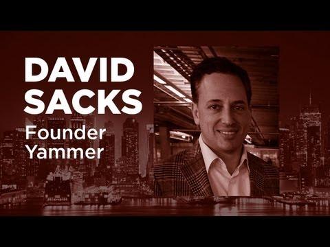 - Startups - David Sacks Founder of Yammer - TWiST#354