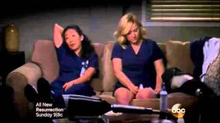 "Callie and Arizona moments - 10.15 ""Throwing It All Away"" - part 6"