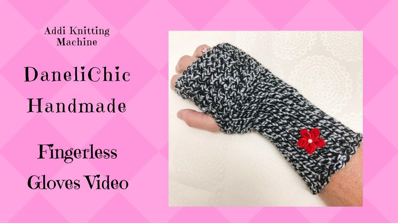 ADDI Express Fingerless Gloves Pattern - Texting GLOVES ...