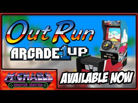 Arcade1Up Outrun Available Now! | MichaelBtheGameGenie from MichaelBtheGameGenie