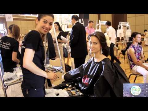 Полуфинал XX чемпионата России по парикмахерскому искусству (Сочи)