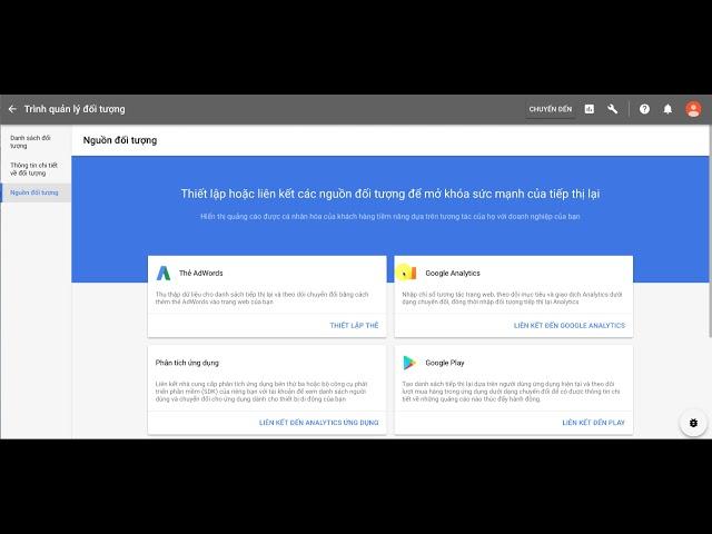 [Content BKAjax] Cách Tạo Thẻ Tiếp Thị Lại Trên Google Ads