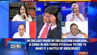 Video The Newshour  Debate: Who will ruin 'Bhartiyata'? - Part 3 (14th April 2014) download MP3, 3GP, MP4, WEBM, AVI, FLV Juni 2018