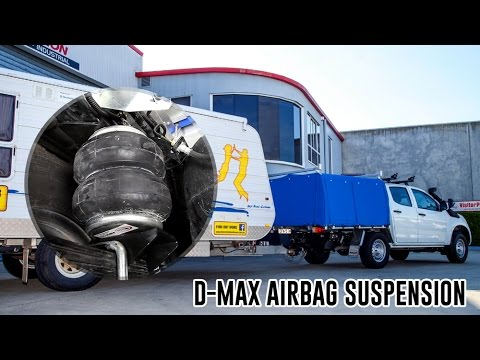 How To Install: Isuzu D-Max Air Suspension - RR4642 Airbag Man Suspension  Leaf Helper Kit