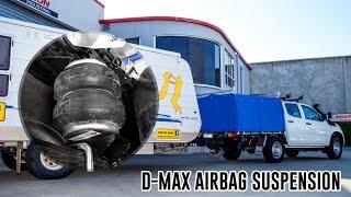 Як встановити: Ісузу Д-Макс пневмопідвіска - подушки безпеки RR4642 людина ресорна підвіска допоміжний комплект