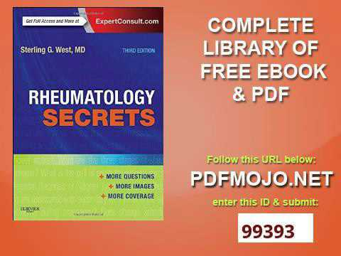 Rheumatology Secrets Pdf