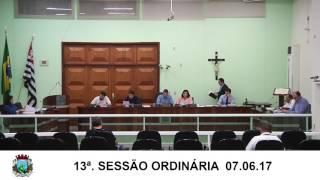 Sessão da Câmara 07.06.17