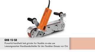 Grit by FEIN GHB 15-50 [English/Deutsch]