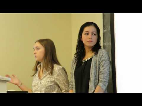 2016 Transitional Justice Institute Presentation at Rider University