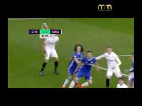 Chelsea Vs Swansea City 3:1 ● All Goals & Highlights ● English Premier League ● 25/02/2017 [HD]