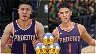 HOW IS IT THIS CLOSE?!?!? Nba Live 18 vs 2k18!! Side by Side Comparison!!