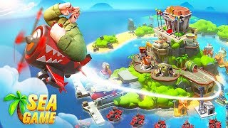 Gambar cover Sea Game : Mega Carrier - Android Gameplay ᴴᴰ