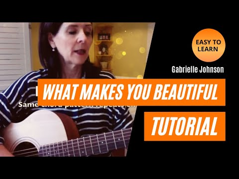 What Makes You Beautiful (Easy) Guitar Tutorial - YouTube
