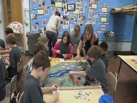 La Crosse Schools: KidsFirst - Summit Environmental School Mosaic