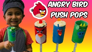 Video 2 Year Old makes Angry Birds push-up cake pops ❤ download MP3, 3GP, MP4, WEBM, AVI, FLV Juni 2018