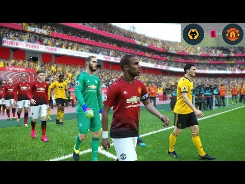 Wolves vs Manchester United - FA Cup - 16 March 2019 Gameplay