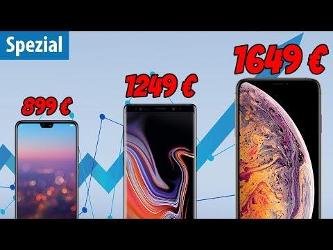 Werden durch das iPhone alle Smartphones teurer?